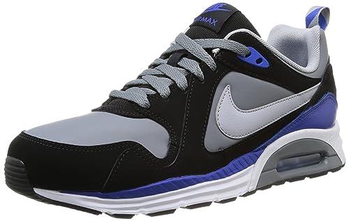 Nike Hommes Air Max Trax Lacer Haut Bas Cuir Terme Sport
