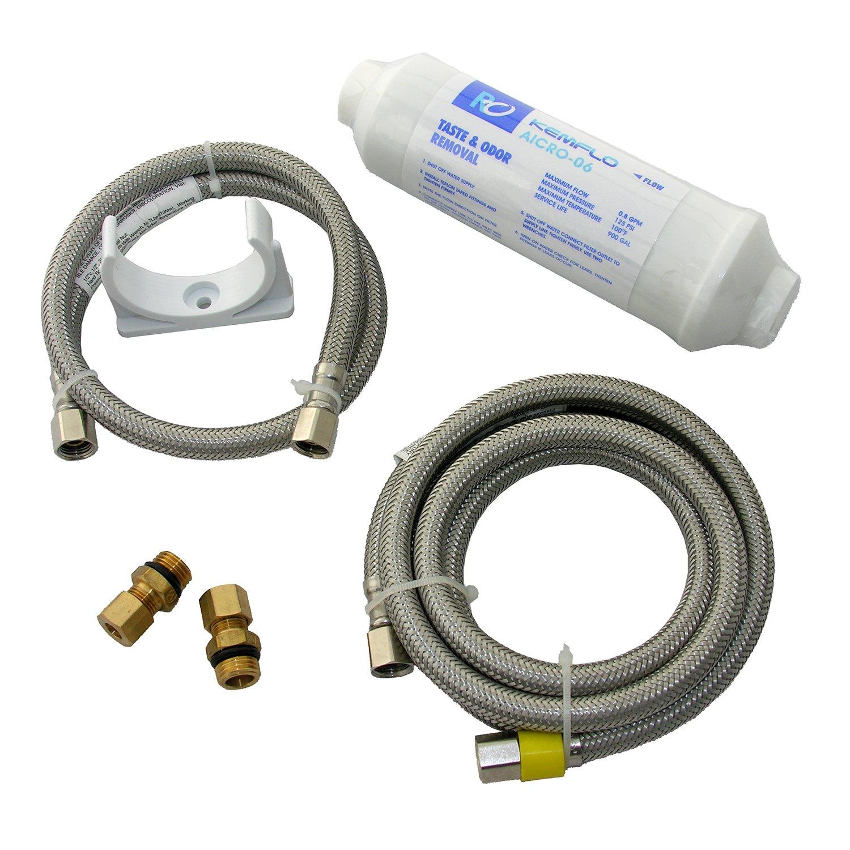 LASCO 37-1833 Inline Ice Maker Filter Installation Kit