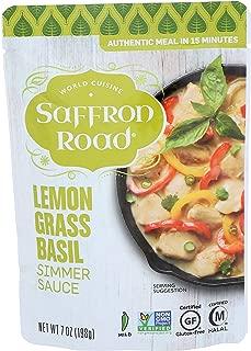product image for Saffron Road Lemongrass Basil Simmer Sauce, 7 Oz