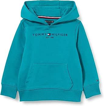 Tommy Hilfiger Essential Hoodie Diseño con Capucha para Niños