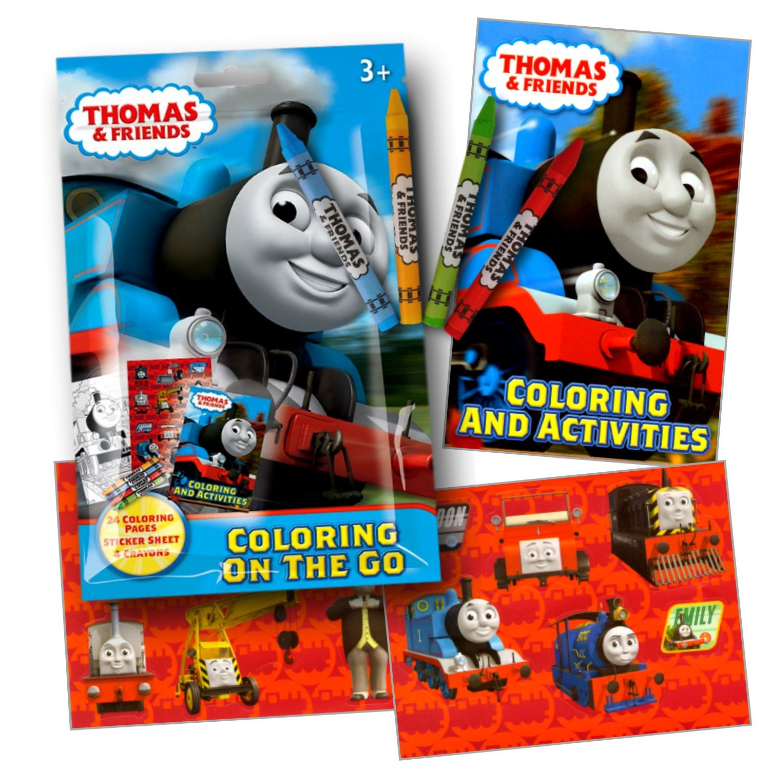 amazon com thomas the train coloring pack party favors with