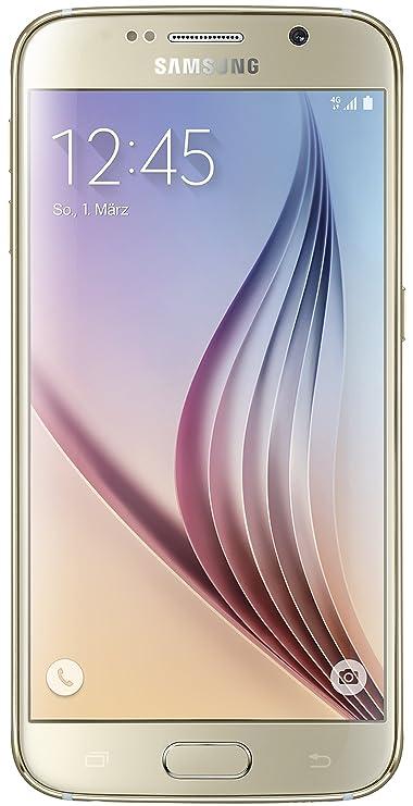 Samsung Galaxy S6 Smartphone (5,1 Zoll (12,9 cm) Touch-Display, 32 GB Speicher, Android 5.0) gold (Nur für Europäische SIM-Ka
