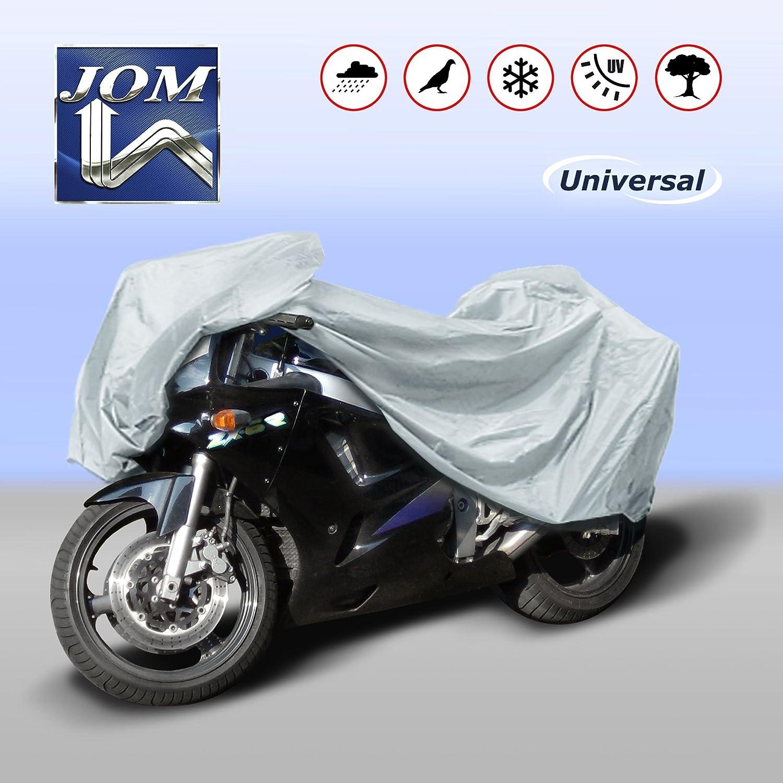Gr/ö/ße L 228x99x124cm JOM 127081 Motorradabdeckung//Motorrad-Vollgarage