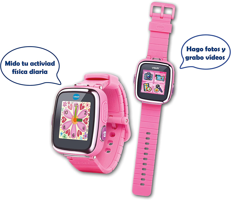 Amazon.es: VTech-80-171617 Reloj Interactivo, Color Rosa (3480-171617)