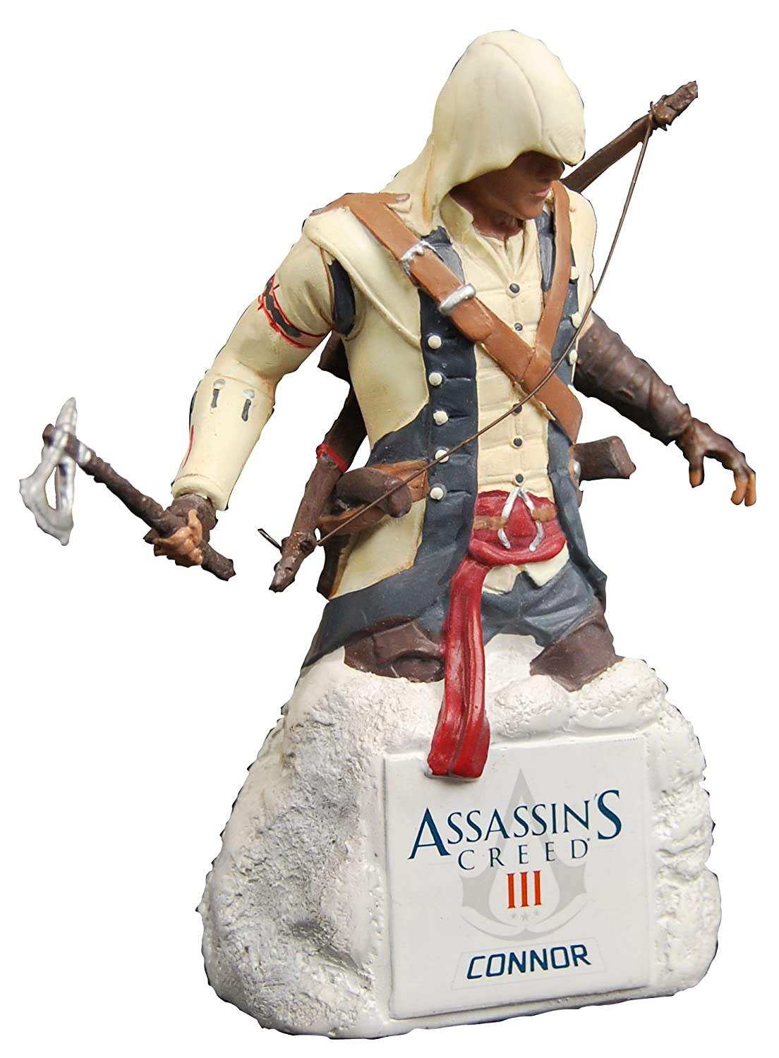 Assassin's Creed III Connor 5 Inch Collectible Bust Resin Statue ID Toys (Montreal) Ubisoft IDUBI2208