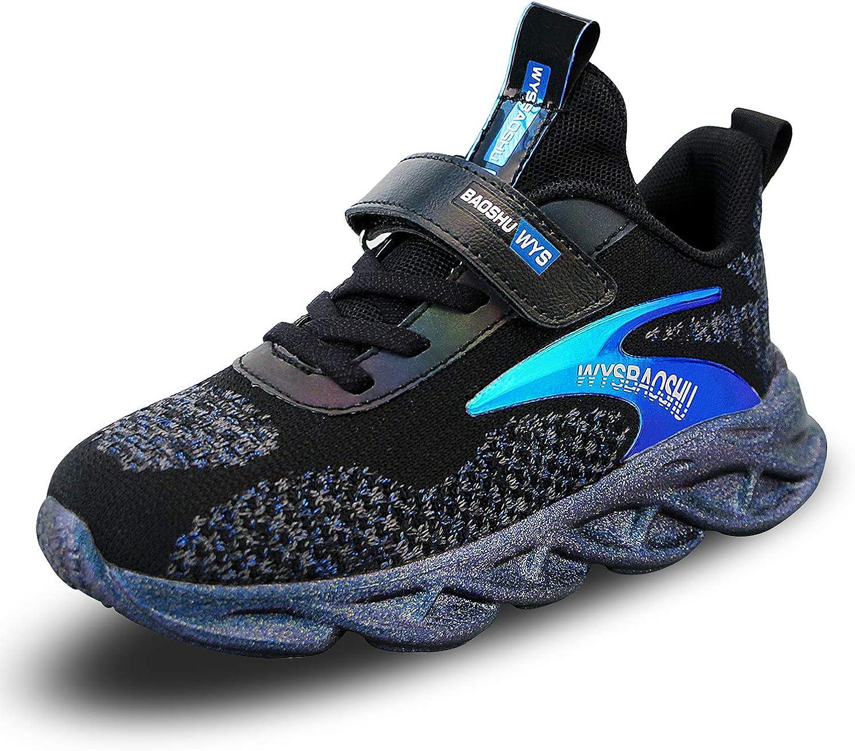 wyhweilong Mode d/écontract/ée Respirante de Chaussures de Sport denfants de Baskets gar/çon de Fille