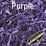 Mighty Gadget (R) 1/2 LB Purple Crinkle Cut Paper Shred Filler for Gift Wrapping & Basket Filling