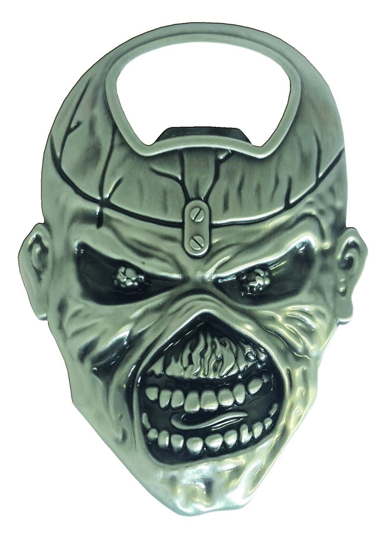 Unbekannt Iron Maiden botim1 apribottiglie, acciaio, argento KlangundKleid.de GmbH