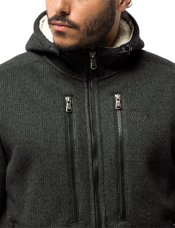 60e2d0359e Jack Wolfskin Men's Robson Jacket Hoodie Fleece Fleece Jacket, Men ...
