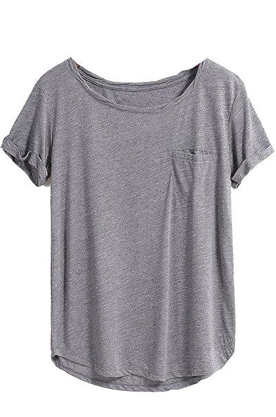Sheinside - Camisas - para mujer gris talla única