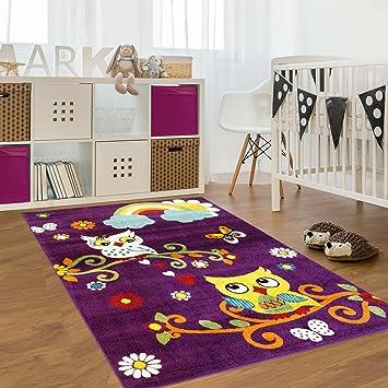carpet city Kinderteppich, Teppich Flachflor für ...