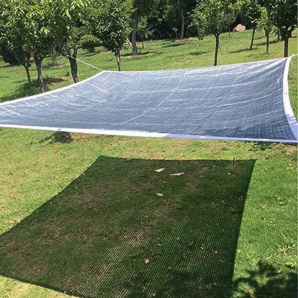 WXZX Toldos Impermeables Protección Solar Exterior, Plata ...