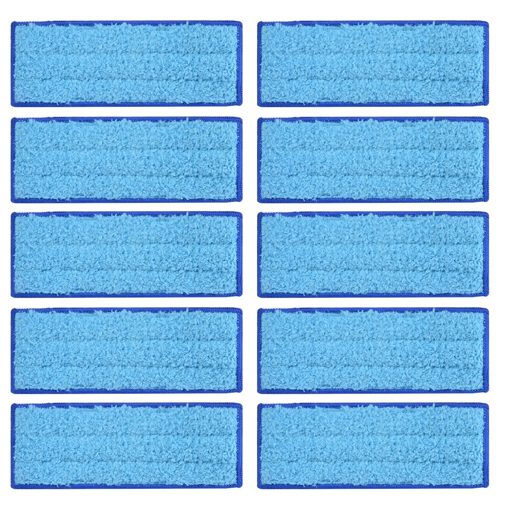 XCSOURCE 10Pcs Microfiber Wet Cloth Mopping Pads Washable Reusable Replacement for iRobot Braava Jet 240/241 Cleaner Robot HS1034