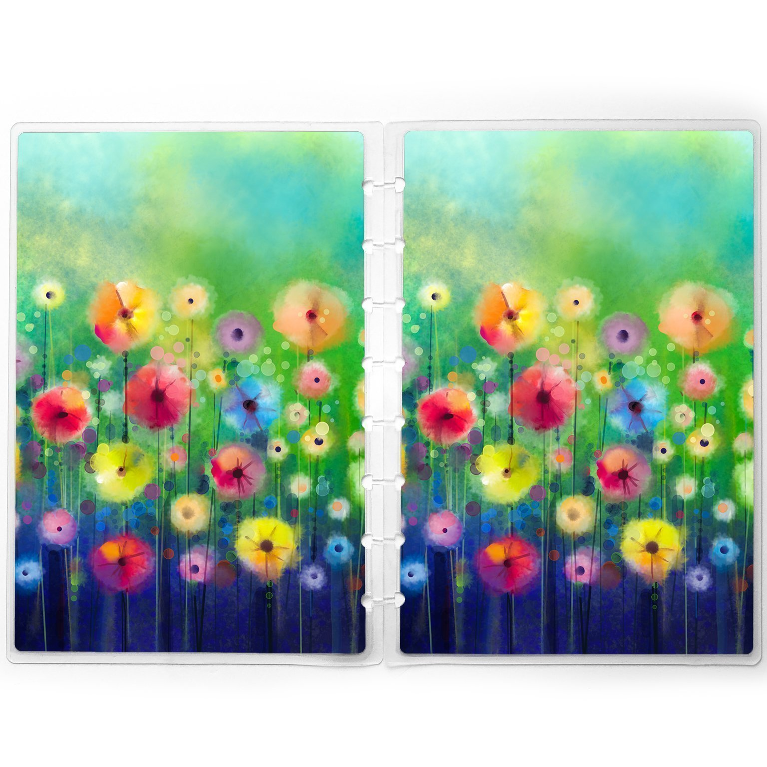 Disc-bound Planner Cover | Vivid Floral