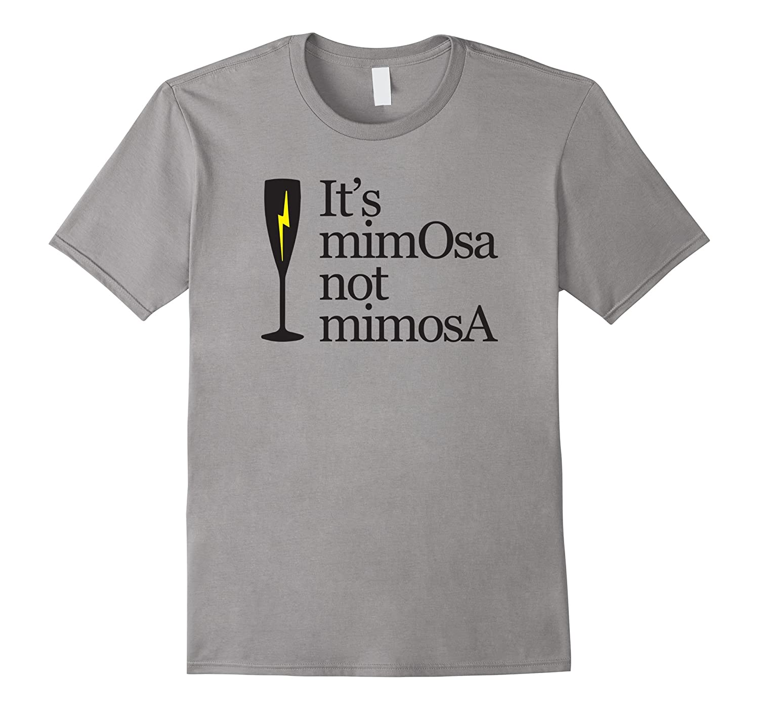 It's MimOsa not mimosA T-shirt-BN