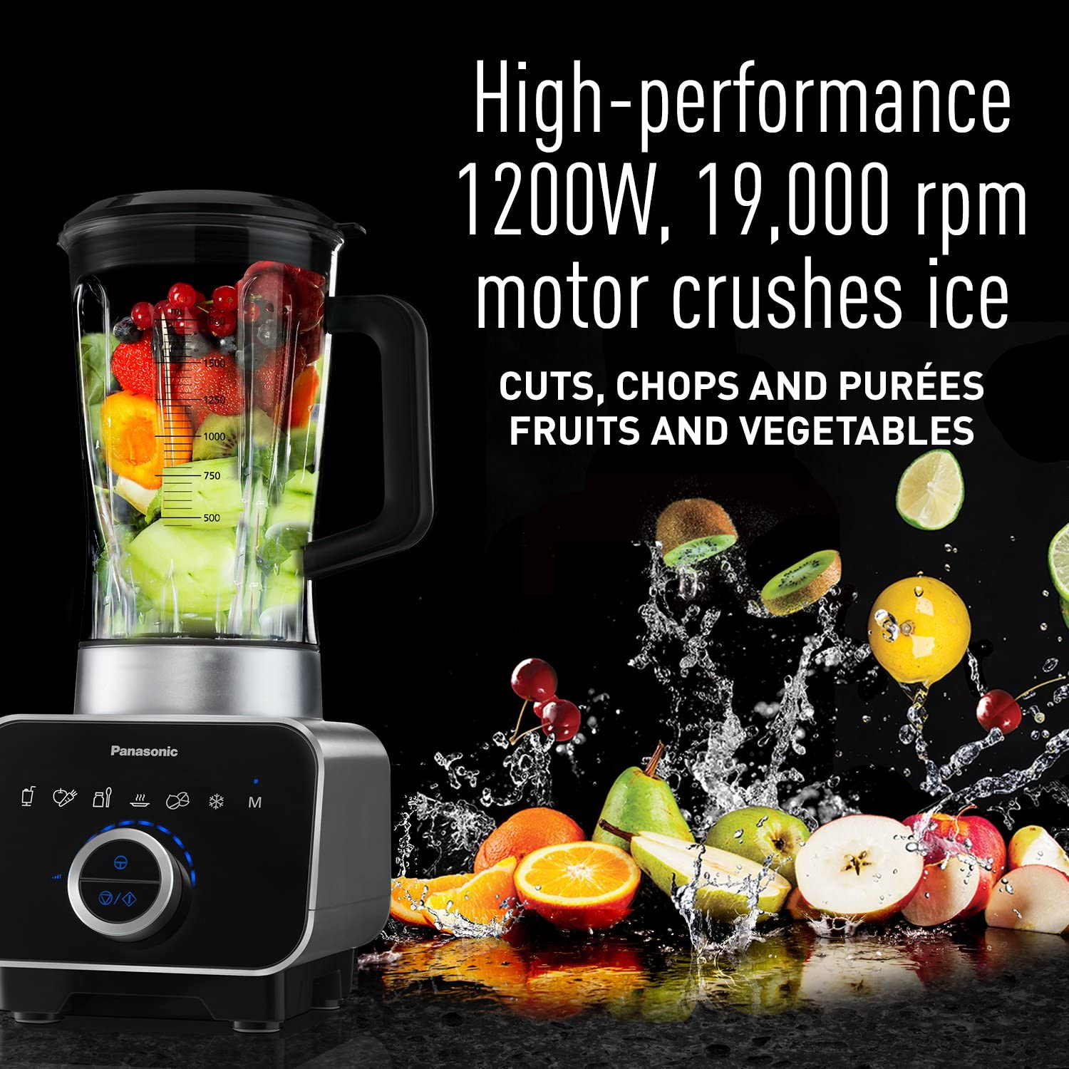 Panasonic MX-ZX1800 High Speed Blender with Ice Jacket Accessory - best blender for frozen margaritas