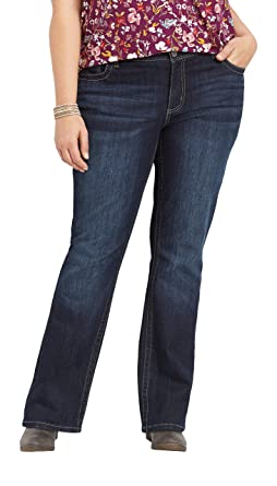 f327cd8e196bea maurices Plus Size DernimFlex Jeans - Bootcut Styles at Amazon Women's  Jeans store