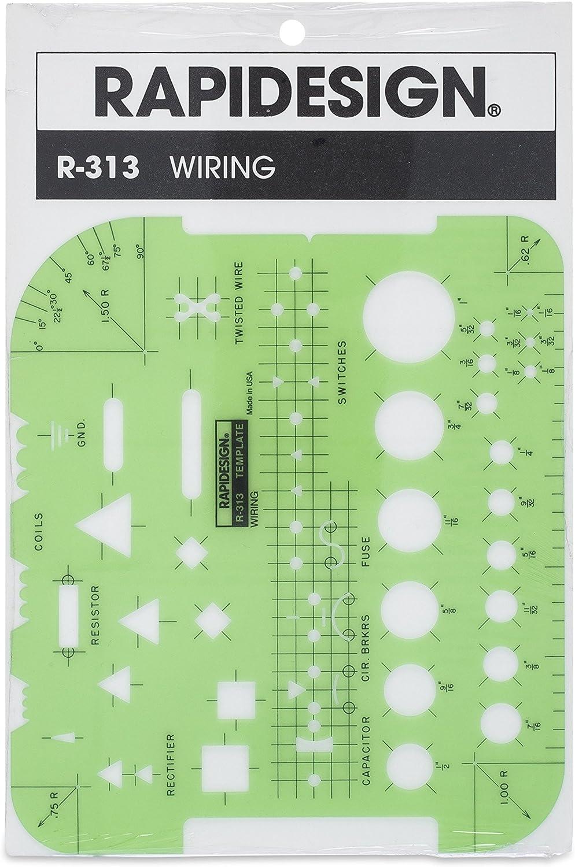 Rapidesign Wiring Template, 1 Each (R313)