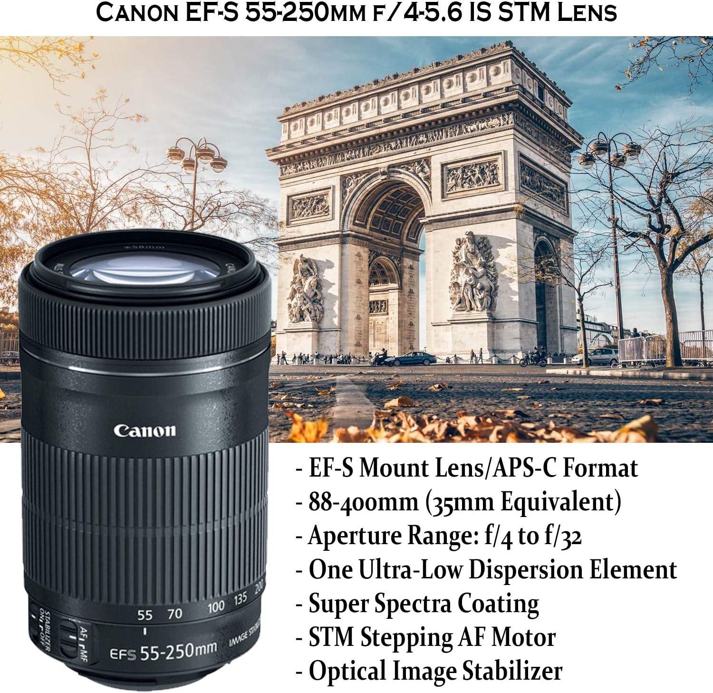 FLD Fluorescent Natural Light Color Correction Filter for Canon EF-S 55-250mm f//4-5.6 IS STM Lens