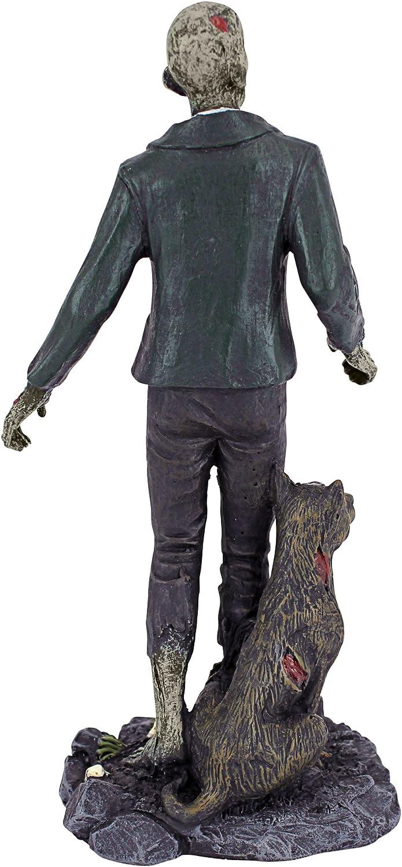 Figurenkollektion Zombie mit Grabstein Design Toscano Wandelnde tote Zombies