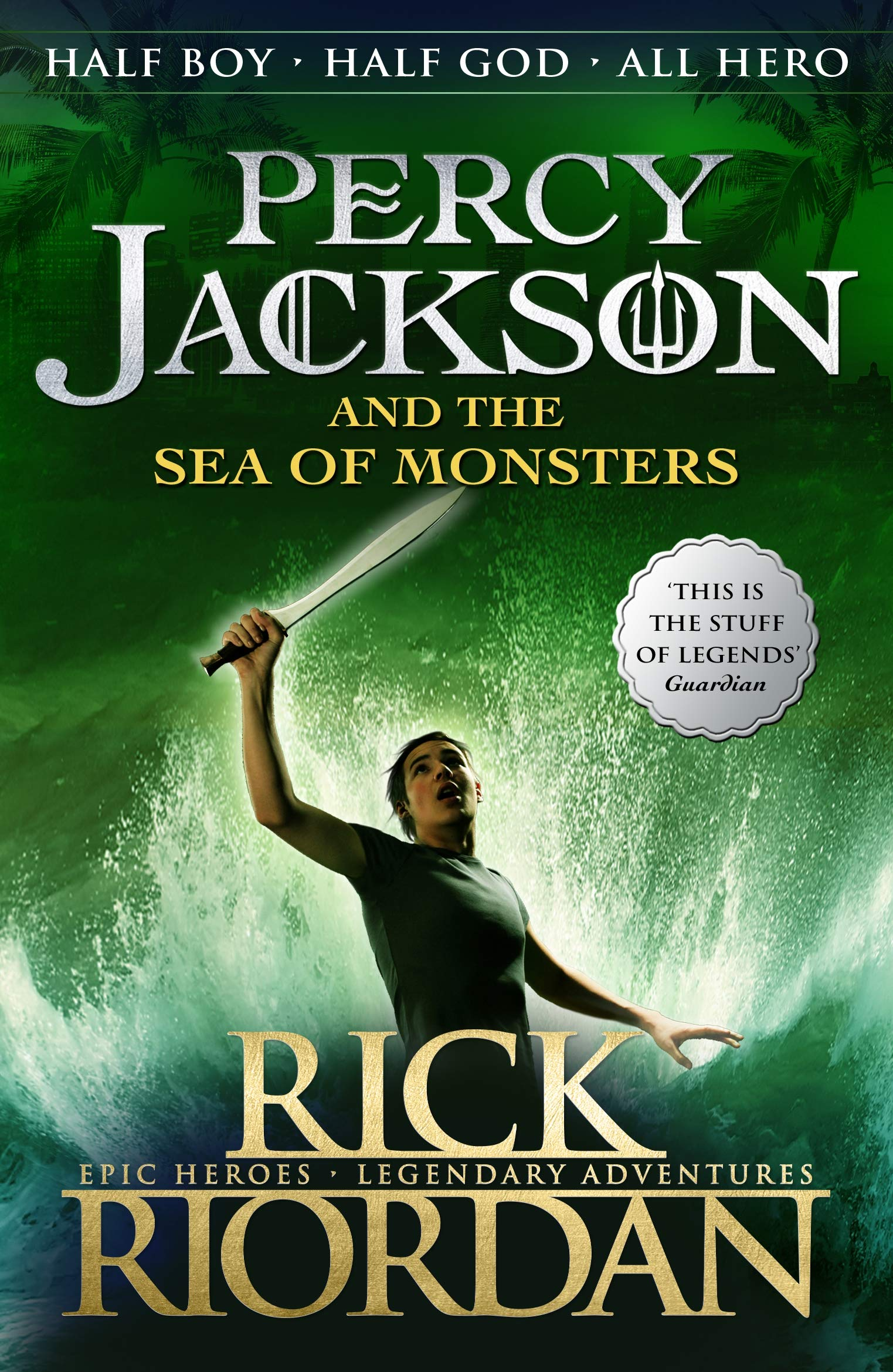 Buy Percy Jackson and the Sea of Monsters Book Online at Low ...
