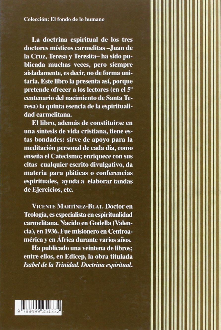 Tres doctores místicos: Vicente Martínez-Blat: 9788499251332 ...