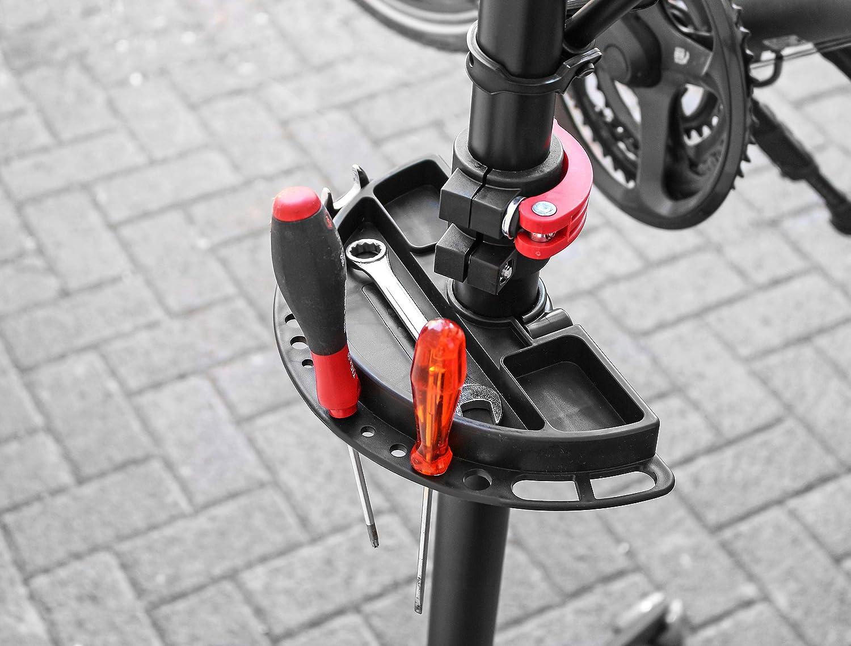Eufab 16414 - Caballete profesional de 4 patas para bicicleta ...