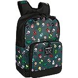 """JINX Minecraft Bobble Mobs Kids School Backpack, Gray, 17"""""""