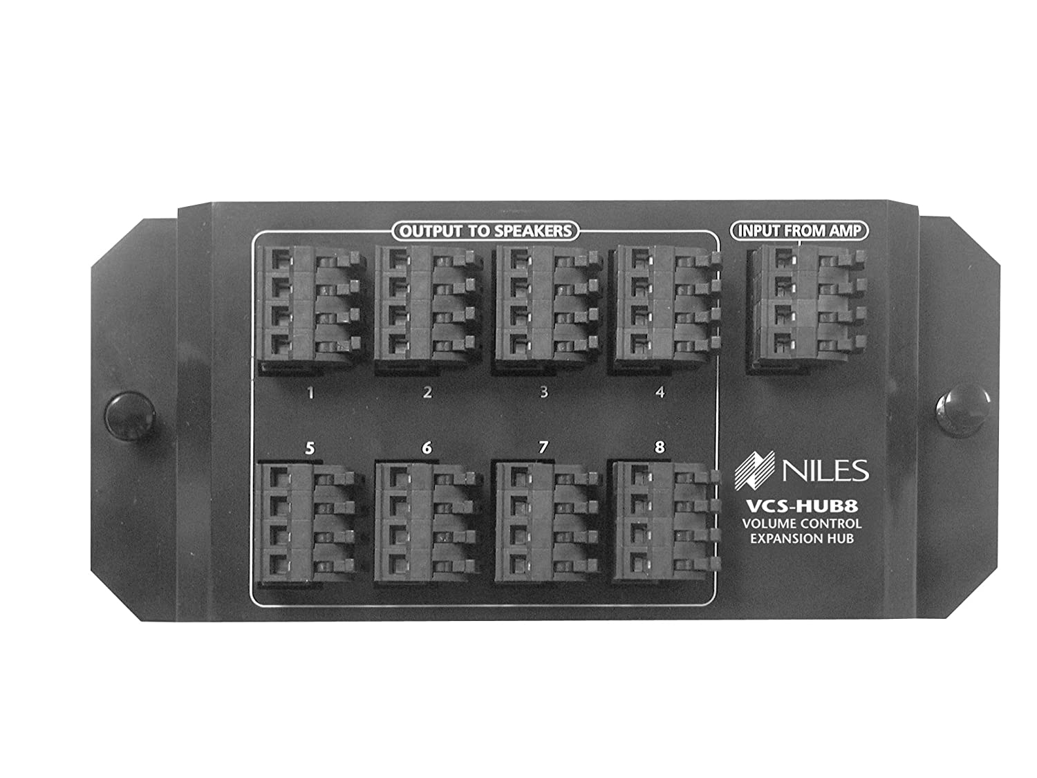 Niles Vcs Hub8 Volume Control Speaker Distribution Hub Structured Wiring Whole Home Audio Theater