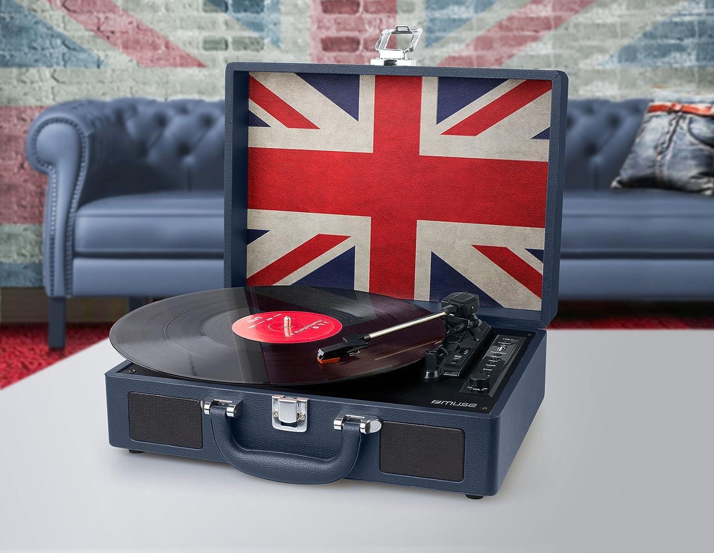 Muse MT102UK tocadisco - Tocadiscos, 33,45,78 RPM, 45,78 RPM, 100 ...