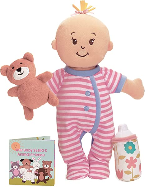 Wee Baby Stella – Sleepy Time Scents Soft Doll Set, 12