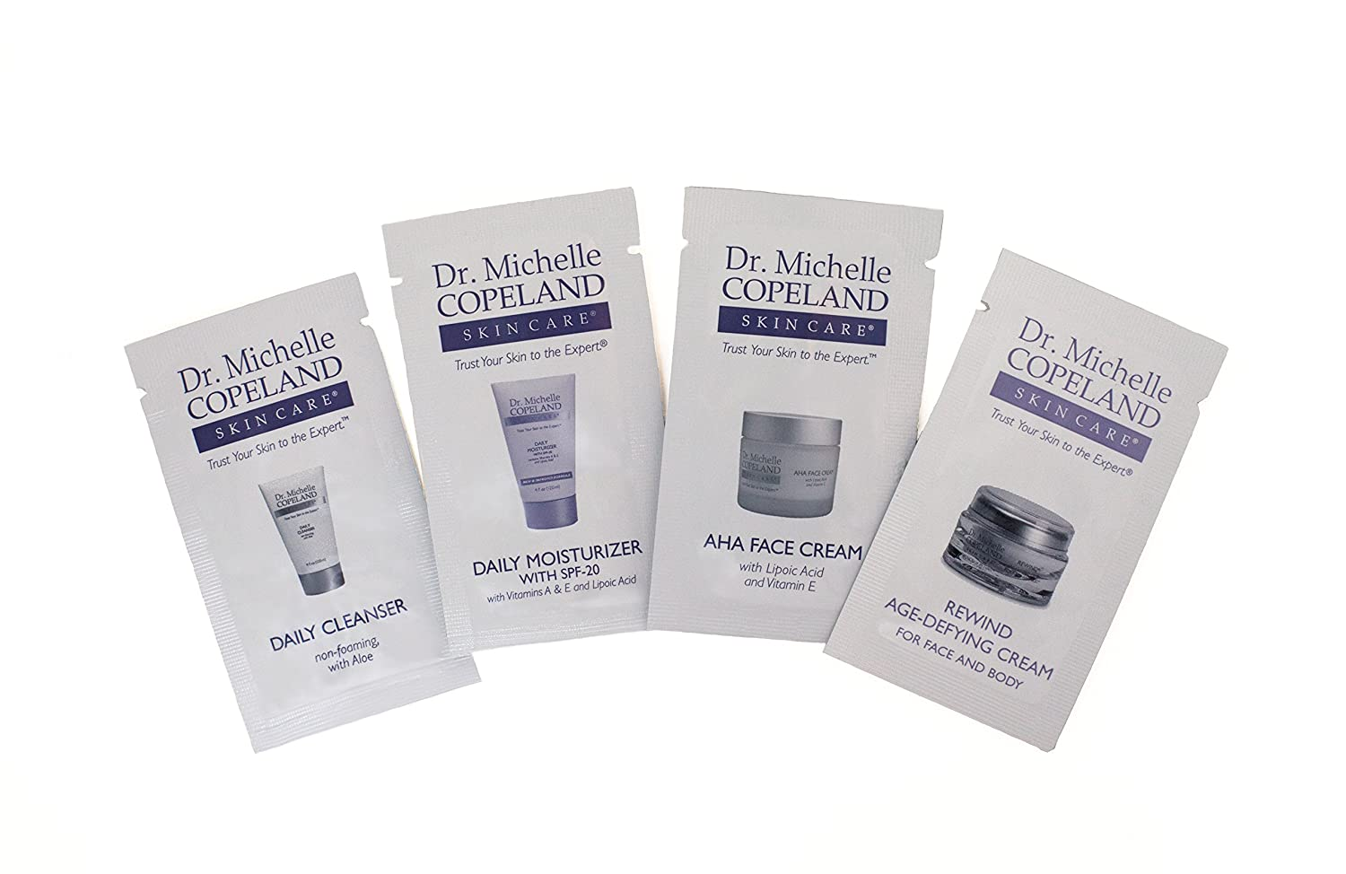 Dr. Copeland Skin Care Product Samples