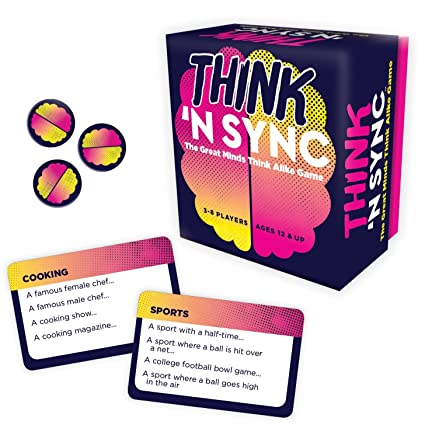 817V6xDxzgL._SX425_ amazon com gamewright think 'n sync the great minds think alike