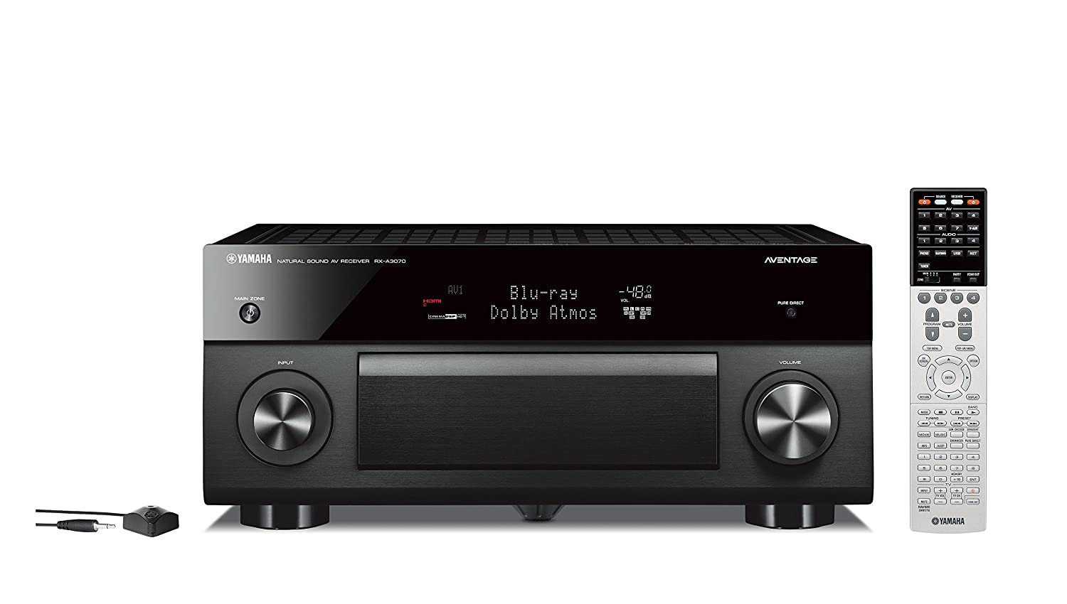 Amazon.com: Yamaha AVENTAGE Audio & Video Component Receiver, Black  (RX-A3070BL), Works with Alexa: Electronics