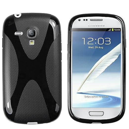 45 opinioni per Mumbi Custodia in X-TPU per Samsung Galaxy S3 mini, Nero