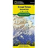 Grand Teton National Park Wyoming: NG.NP.202 (Trails Illustrated Maps) (Ti - National Parks)