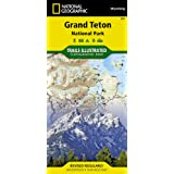 Grand Teton National Park: Trails Illustrated - National Park Maps-