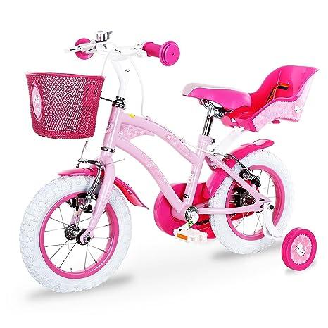 Hello Kitty Flowers Bicicletta Per Bambini Con Rotelle Ruote 30
