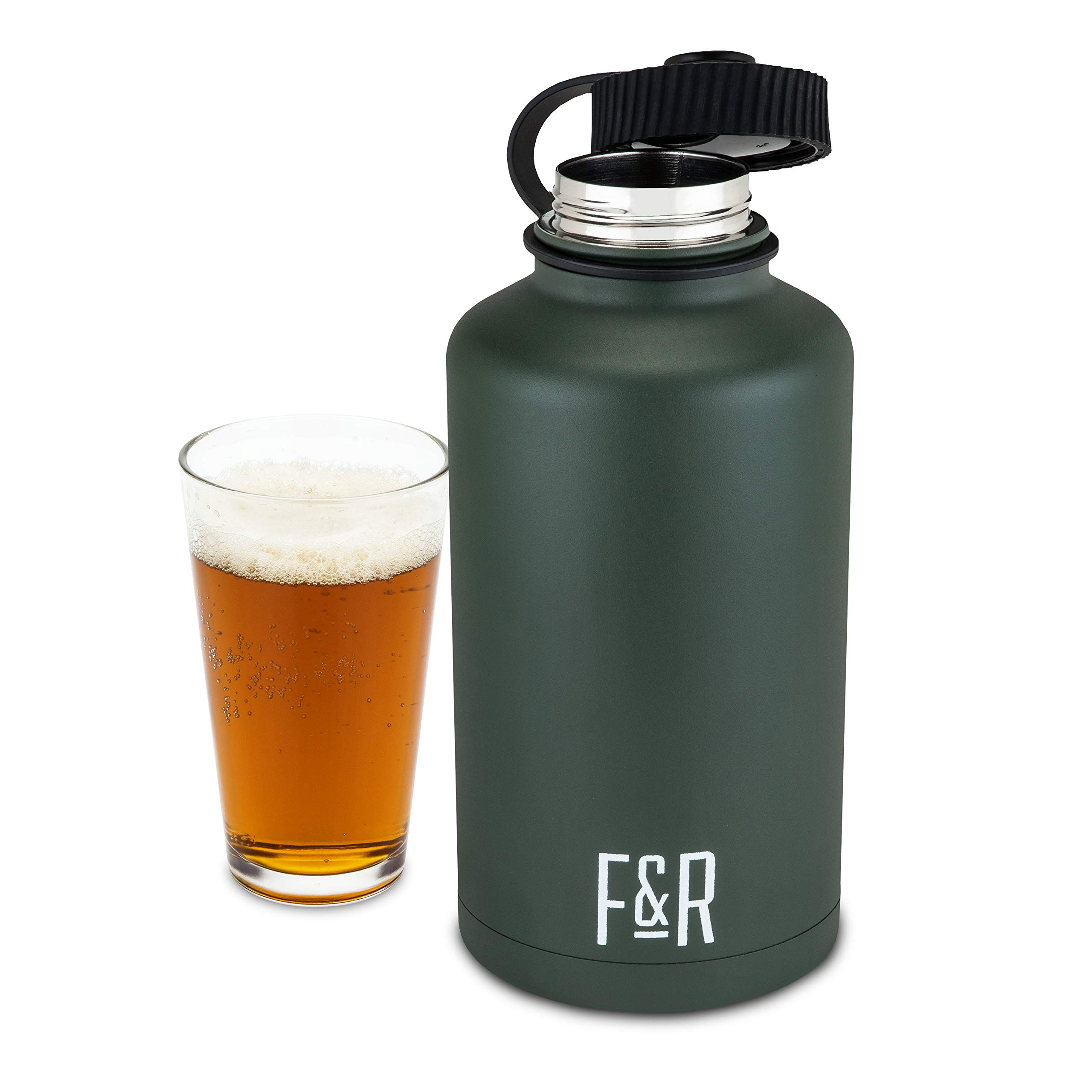 Stainless Steel Double Walled Sport Growler by Foster and Rye