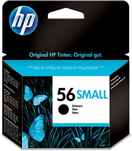 HP C6656GE 56 - Cartucho de tinta, (4,5 ml), color negro