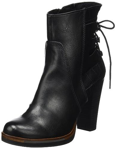 MARCO TOZZI Damen 25047 Stiefel, Schwarz (Black Antcomb), 36