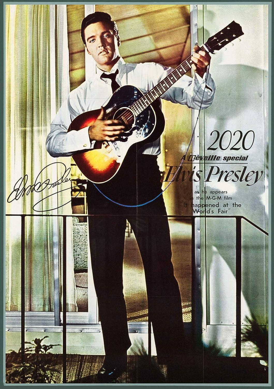 "Elvis Presley 14 x 11/"" Thank you"