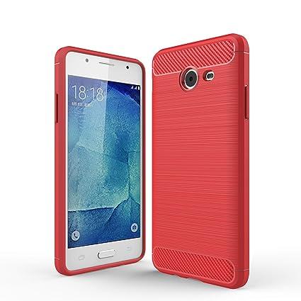 c3a3198c9b3 cookaR Funda Samsung Galaxy J5 2018, Funda Samsung Galaxy J5 2018 Funda  Protectora Ultra Thin