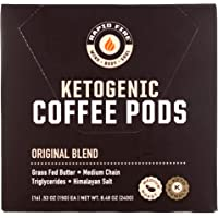 Rapid Fire Ketogenic High Performance Keto Coffee Pods, Supports Energy and Metabolism, Weight Loss, Ketogenic Diet 16 Single Serve K-Cup Pods