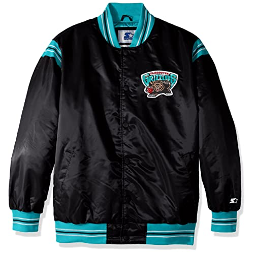 STARTER NBA Mens The Enforcer Retro Satin Jacket