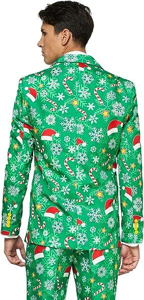 OFFSTREAM Suitmeister Trajes de Navidad - Incluyen Chaqueta ...