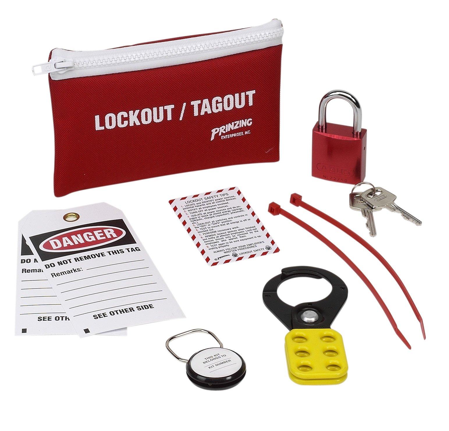 Brady LK627E Prinzing Standard Lockout belt pack (1 Each) by Brady