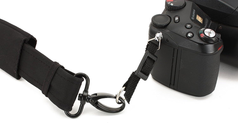 Anti-Theft Strap w//Non-Slip DayMakers X-Long ComfortCurve CityStrap Black Microfiber - 65