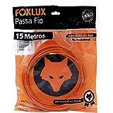Passa Fio Alma de Aço Foxlux – 15 Metros – PP de alta resistência – Qualidade profissional – Indicado para instalações elétri