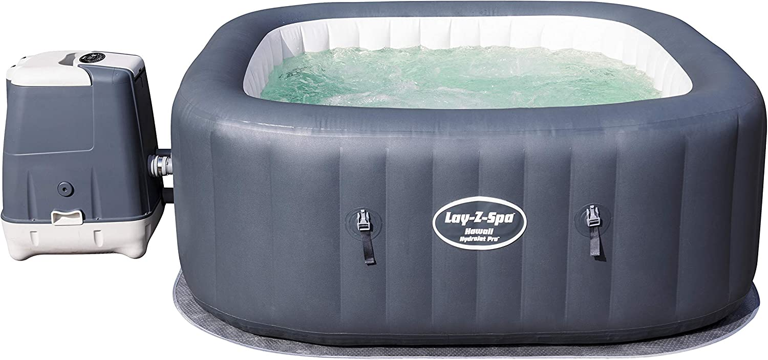 Bestway - SPA Hinchable Bestway Lay- Z-SPA Hawaii Hydrojet Pro para 4-6 Personas: Amazon.es: Jardín